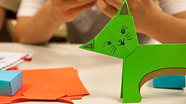 Robienie zwierzątek z papieru