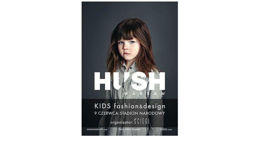 Plakat targów mody dla dzieci