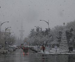 Grecja: atak zimy. Opóźnione loty i problemy na drogach