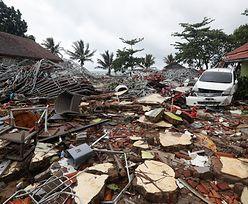 Rośnie liczba ofiar kataklizmu w Indonezji. Służby ostrzegają przed kolejną falą