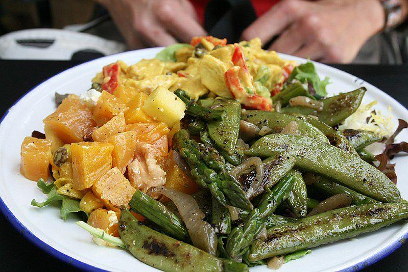 Zdrowe warzywne danie
