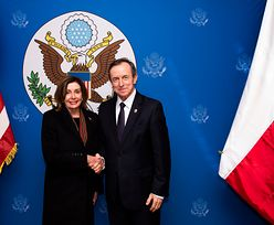 Tomasz Grodzki spotkał się z Nancy Pelosi. Poruszyli dwa ważne tematy