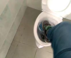 Demolka w szkolnym WC. Gimnazjaliści wrzucili oburzające nagranie do sieci