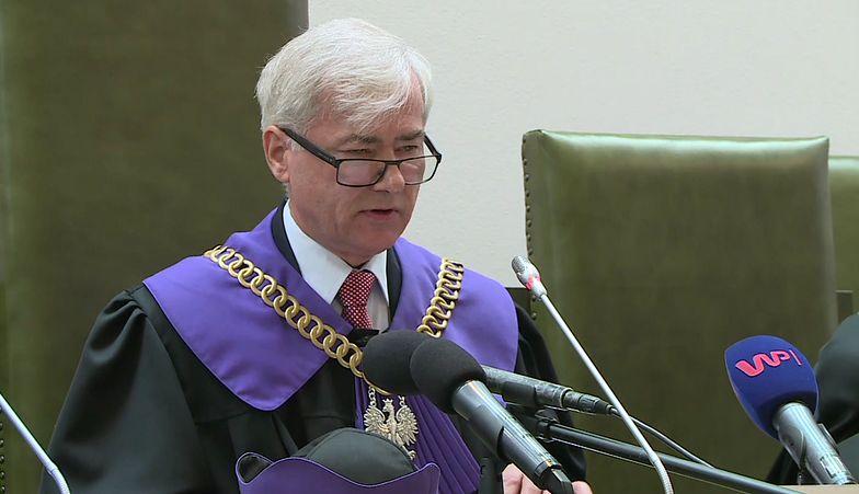 Sąd Najwyższy zawiesił rozpatrywanie sprawy kasacyjnej Mariusza Kamińskiego
