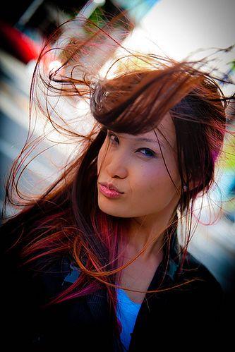 Fryzura - kolor włosów a cera