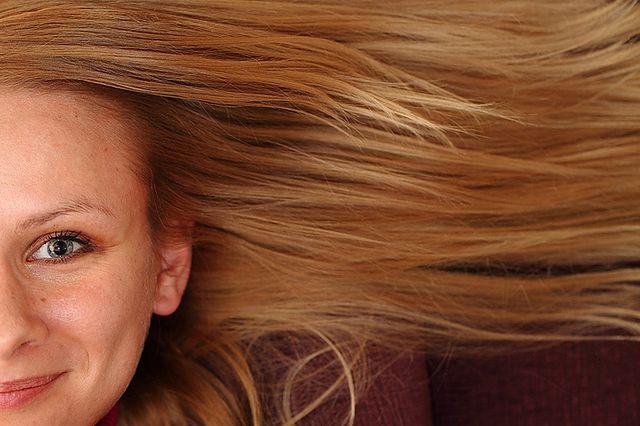 Fryzura - długie włosy