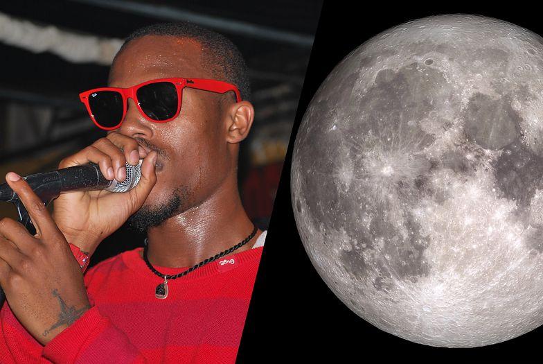Znany raper twierdzi, że Księżyc świeci swoim światłem