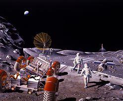 Rosja do spółki ze Stanami Zjednoczonymi zbuduje księżycową stację kosmiczną