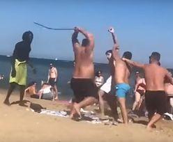 Barcelona. Krwawe wakacje na plaży. Turysta walczył metalowym prętem