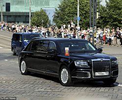 Putin pierwszy raz zabrał nową limuzynę poza Rosję. Pojawił się w niej w Helsinkach